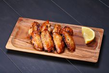 Free Grilled Chicken Wings Royalty Free Stock Photo - 10112055