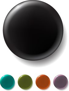 Free Color Buttons Stock Image - 10112401