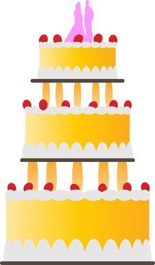 Free Wedding Cake Stock Image - 10112721