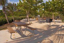 Free Empty Tropical Picnic Area Stock Photo - 10112770