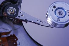 Free Hard Disk Drive Internals Stock Photography - 10113222