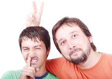 Free Two Funny Men Stock Photo - 10113920