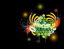 Free Vector Flower Illustration Royalty Free Stock Image - 10114556