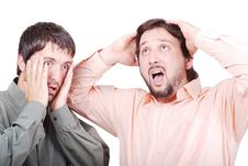 Free Two Worried Man Royalty Free Stock Images - 10114959