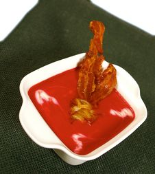 Red Beet Soup Royalty Free Stock Photography