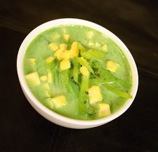 Free Green Soup Stock Image - 10115251