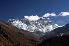 Free Lhotse Wall Stock Photography - 10116212