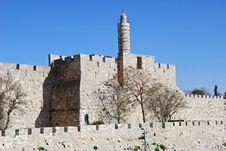 Tower Of David Stock Photos