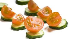 Free Healty Vegetable Snackes Royalty Free Stock Images - 10119089