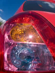 Free Tail Light Royalty Free Stock Photos - 10119618