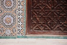 Free Bou Inania Madrassa In Fez, Morocco Royalty Free Stock Photography - 10119707