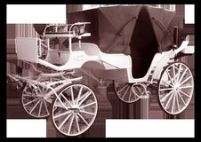 Free Carriage, Black And White, Horse And Buggy, Chariot Stock Photos - 101103823