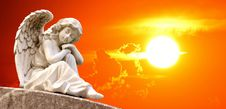 Free Sky, Angel, Statue, Sunlight Royalty Free Stock Photo - 101104635