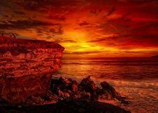 Free Sky, Afterglow, Red Sky At Morning, Sunrise Royalty Free Stock Image - 101104766