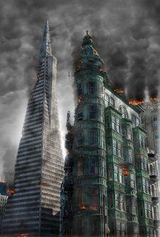Free Skyscraper, Metropolitan Area, Metropolis, Building Royalty Free Stock Image - 101155566