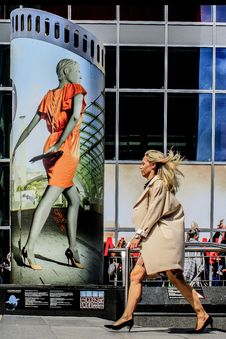Free Fashion, Shoe, Girl, Road Stock Photography - 101156182