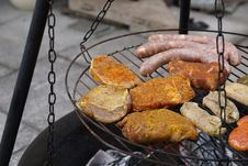 Free Grilling, Meat, Barbecue, Food Stock Photos - 101158113