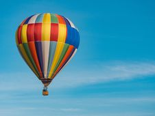 Free Hot Air Ballooning, Hot Air Balloon, Sky, Atmosphere Of Earth Stock Photos - 101165923