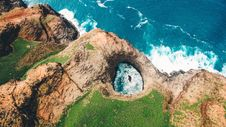 Free Coast, Nature Reserve, Rock, Cliff Stock Image - 101175971
