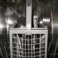 Free Cutlery Basket Stock Image - 10129121