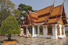 Free Wat Doi Sutep, Thailand, Chiangmai Royalty Free Stock Photography - 10120067
