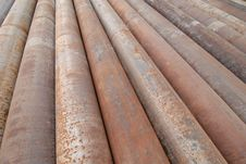 Free Cast Iron Pipes Stock Image - 10120371