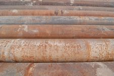 Free Cast Iron Pipes Stock Photo - 10120480