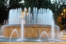 Free Castello Sforzesco Fountain Stock Images - 10120894