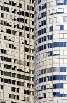 Free Office Building In La Defense, Paris Stock Images - 10121244