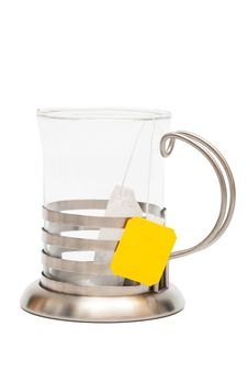 Free Teabag In A Glass Royalty Free Stock Photos - 10124748