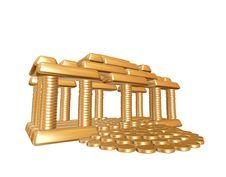Free Golden House Stock Image - 10125231