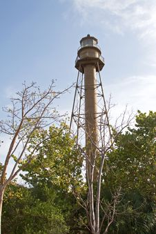 Sanibel Lighthouse Stock Image