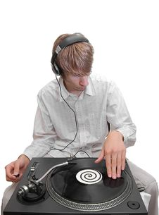 Free DJ Royalty Free Stock Image - 10125376