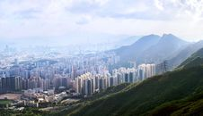 Free Cityscape Of Hong Kong. Royalty Free Stock Photos - 10125788