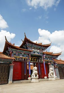 Free Chinese Temple Royalty Free Stock Images - 10129789
