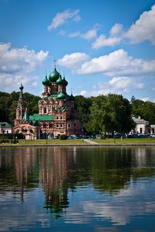 Free Old Mansion In Moscow, Russia Royalty Free Stock Photo - 10129885