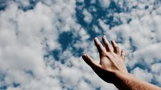 Free Sky, Cloud, Blue, Hand Stock Images - 101221364