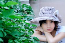 Free Headgear, Sun Hat, Girl, Hat Royalty Free Stock Images - 101231189