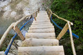 Free Wooden Stairway Royalty Free Stock Photos - 10133038