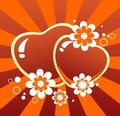 Free Hearts And Flowers Royalty Free Stock Images - 10135889