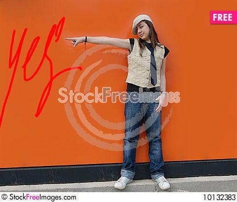 Child model Stock Photo