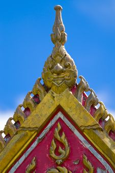 Free Top Of A Buddhist Temple Royalty Free Stock Photo - 10130285
