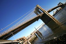 Free Classical NY -Brooklyn Bridge Stock Photography - 10130842