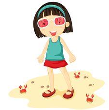 Free Girl At Beach Stock Photo - 10131960