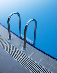 Free Pool Stair Detail Royalty Free Stock Image - 10132566