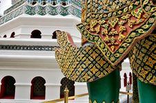Free Decor Element Of Wat Phra Kaeo, Bangkok, Thailand Stock Photography - 10132662
