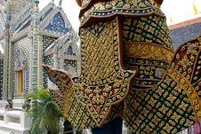 Free Decor Element Of Wat Phra Kaeo, Bangkok, Thailand Royalty Free Stock Image - 10132746