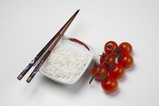 Free Rice In Bowl Royalty Free Stock Photography - 10132887