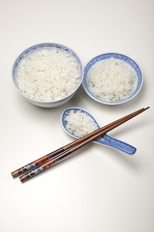 Free Rice In Bowl Royalty Free Stock Photography - 10133217