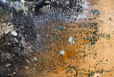 Grunge Burnt Wall Stock Photography